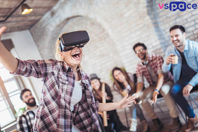 50% off on VR gaming & PlayStation at VSpace